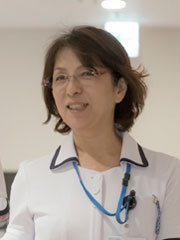 護師長 上村博子